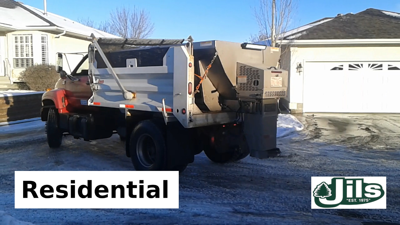 Residentiel snow removal #2